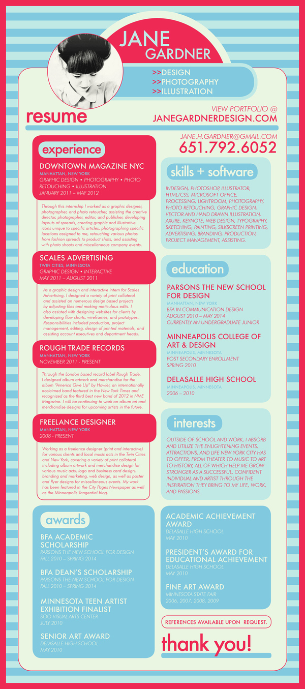 Creative resumes. Dare to be different! – Hai-Hui